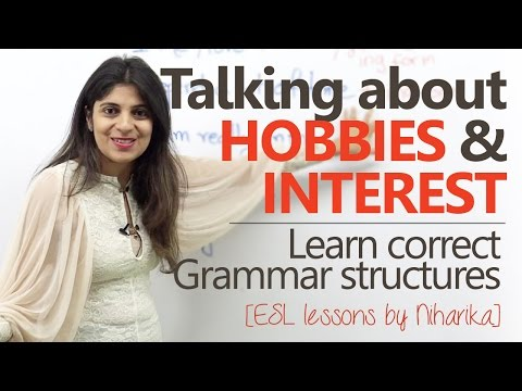 Talking about hobbies and Interest ( Asking questions & replying) – Free English lessons