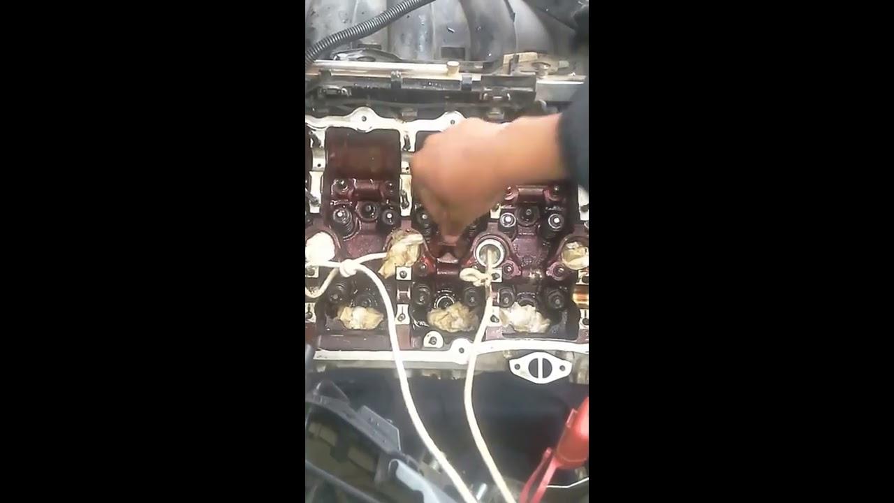 bmw smoking 320i,116i,118i,120i/ valve stem seals replacement 0760180137