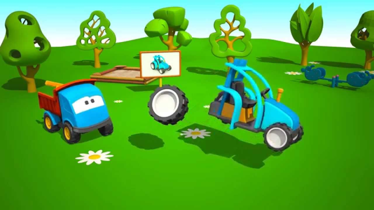 Cartoni animati per bambini leo il camion curioso e i