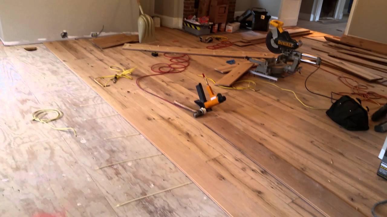 Merveilleux Barbati Hardwood Flooring Before # 327 Reclaimed Random Width