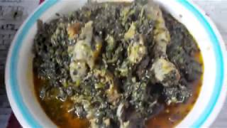 HOW TO PREPARE EFERE ETIDOT OR BITTER LEAF SOUP (THE CALABAR STYLE)
