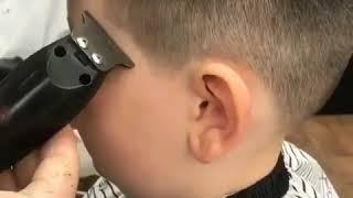Hair Transformation # 129 Kid got his beautiful hair chopped