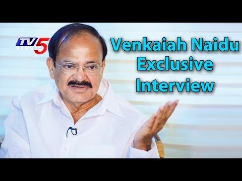 Union Minister Venkaiah Naidu Exclusive Interview | The Insider | Telugu News | TV5 News