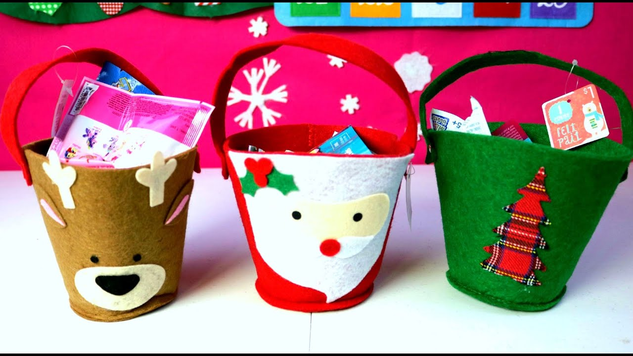 3 canastitas sorpresa de navidad huevos kinder minions doc - Sorpresas para navidad ...