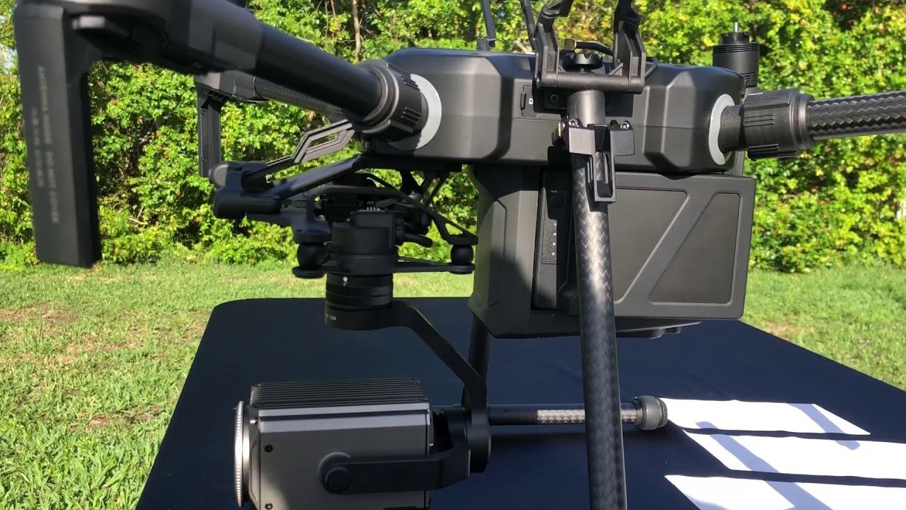Matrice 210 RTK with DJI Z30 Zoom camera 30x testing by Scorpion Drones