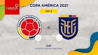EN VIVO en el Fenómeno del Fútbol   Colombia Vs Ecuador  - Copa América