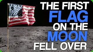 The First Flag on the Moon Fell Over (Clueless Tourists and Expats)