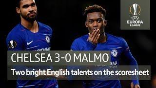 Chelsea vs Malmo (3-0) | UEFA Europa League Highlights