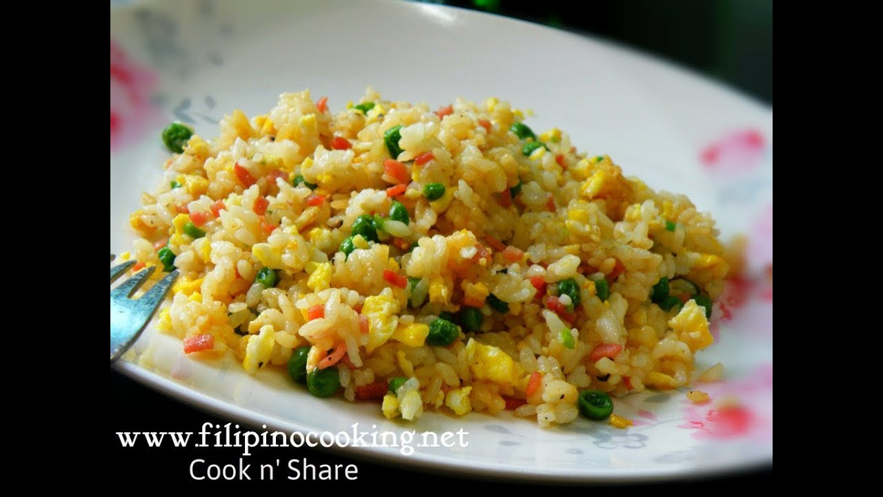 Ham egg fried rice youtube ham egg fried rice ccuart Image collections
