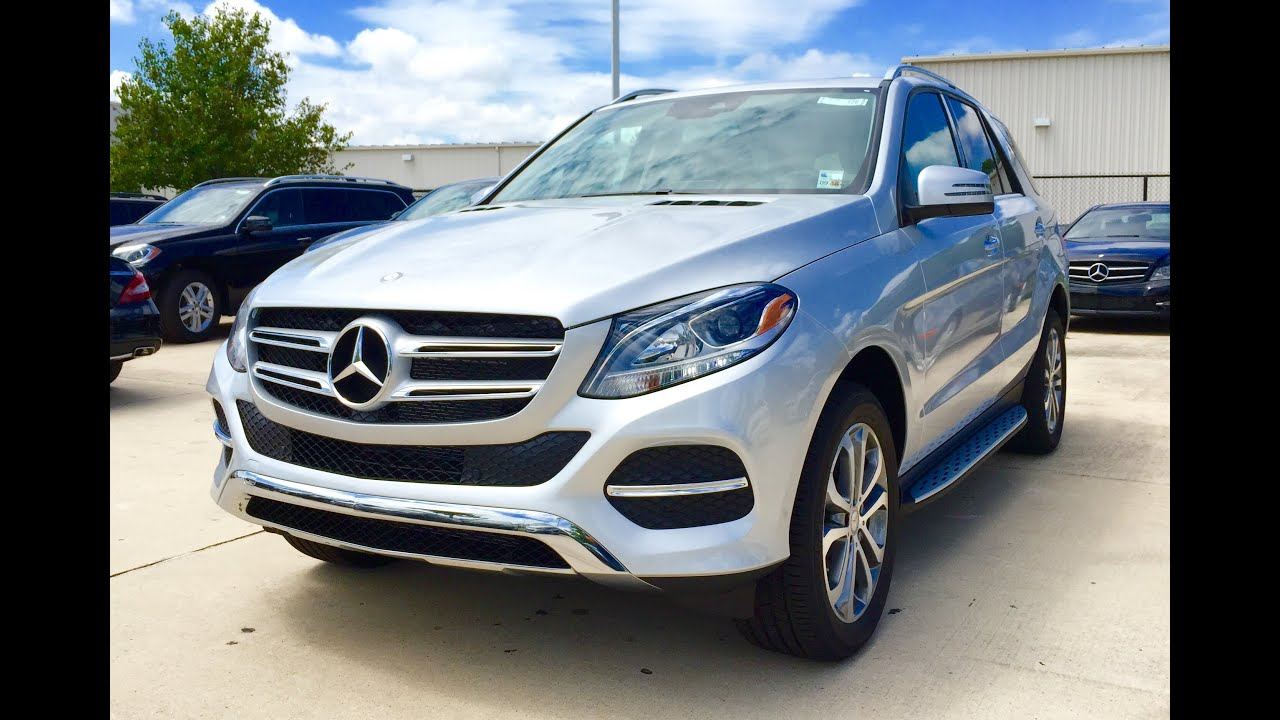 Mercedes 350 Suv >> 2016 Mercedes Benz Gle Class Gle 350 Suv Full Review Exhaust