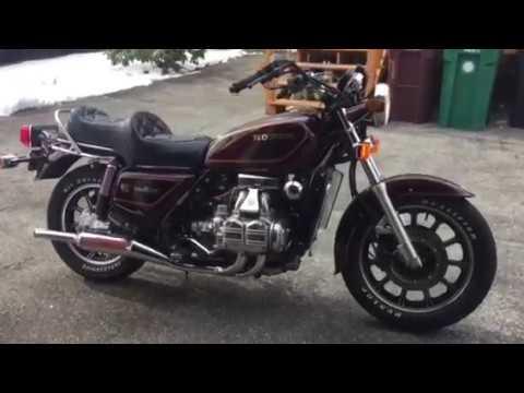 My 1983 Honda Goldwing Gl1100 Standard Youtube