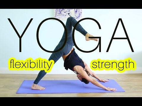 1 hour fat burn yoga  full body tone yoga workout