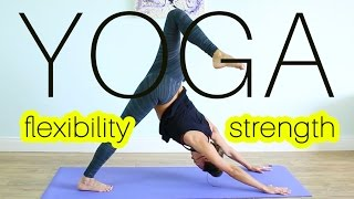 80 MIN FLEXIBILITY & STRENGTH VINYASA YOGA WORKOUT - Full Body