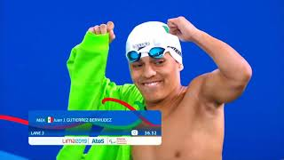 Liam Smith Takes Bronze In Men's S7 50m Butterfly | Parapan American Games Lima 2019