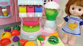 Baby Doli and fruit jelly juice maker toys baby doll play screenshot 4