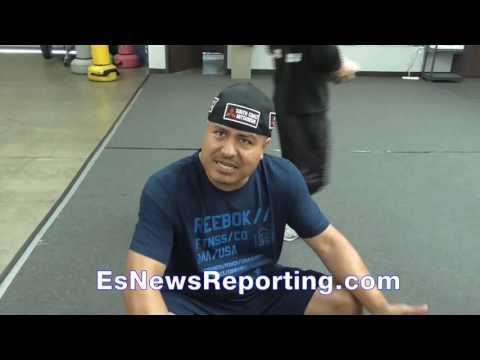 Robert Garcia on Abel Sanchez and Canelo's trainer - EsNews Boxing