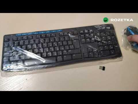 Комплект беспроводной Logitech Wireless Combo MK275 (920-008535)