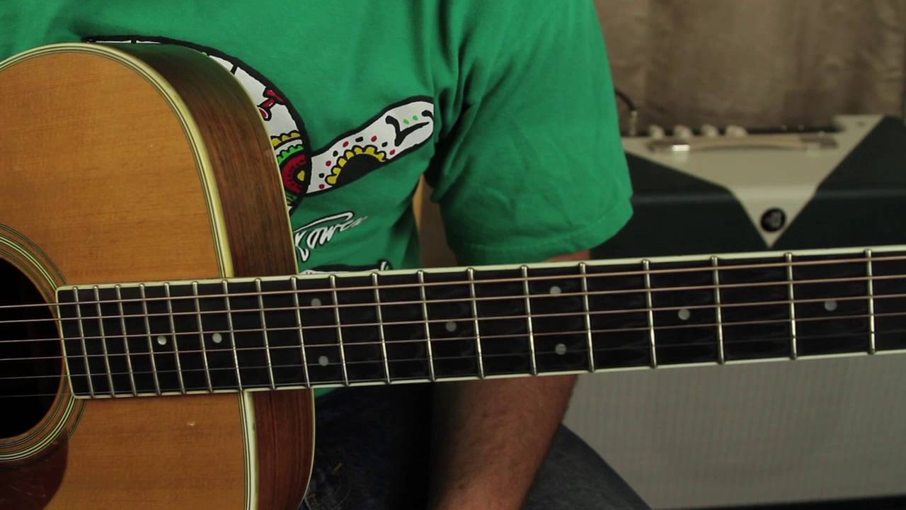 How To Play Slash Patience By Guns And Roses Acoustic Guitar