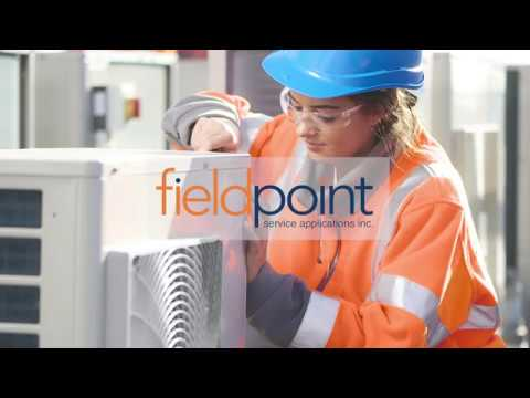 HVAC Field Service Software From Fieldpoint Service Applications Inc.