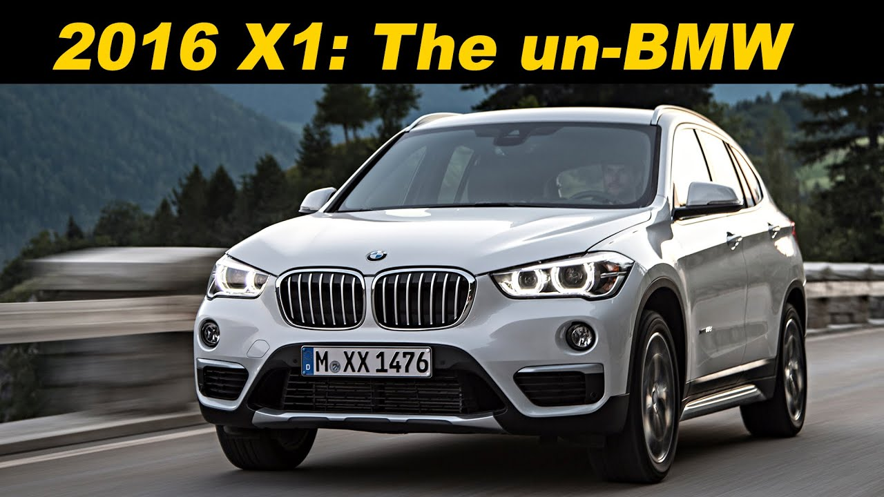2016 2017 bmw x1 review and road test detailed in 4k. Black Bedroom Furniture Sets. Home Design Ideas