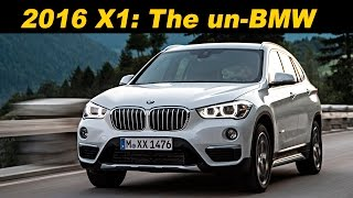 2016 bmw x1 review and road test detailed in 4k uhd