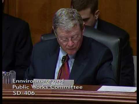 Sen. Inhofe Questions EPA Administrator Lisa Jacks...