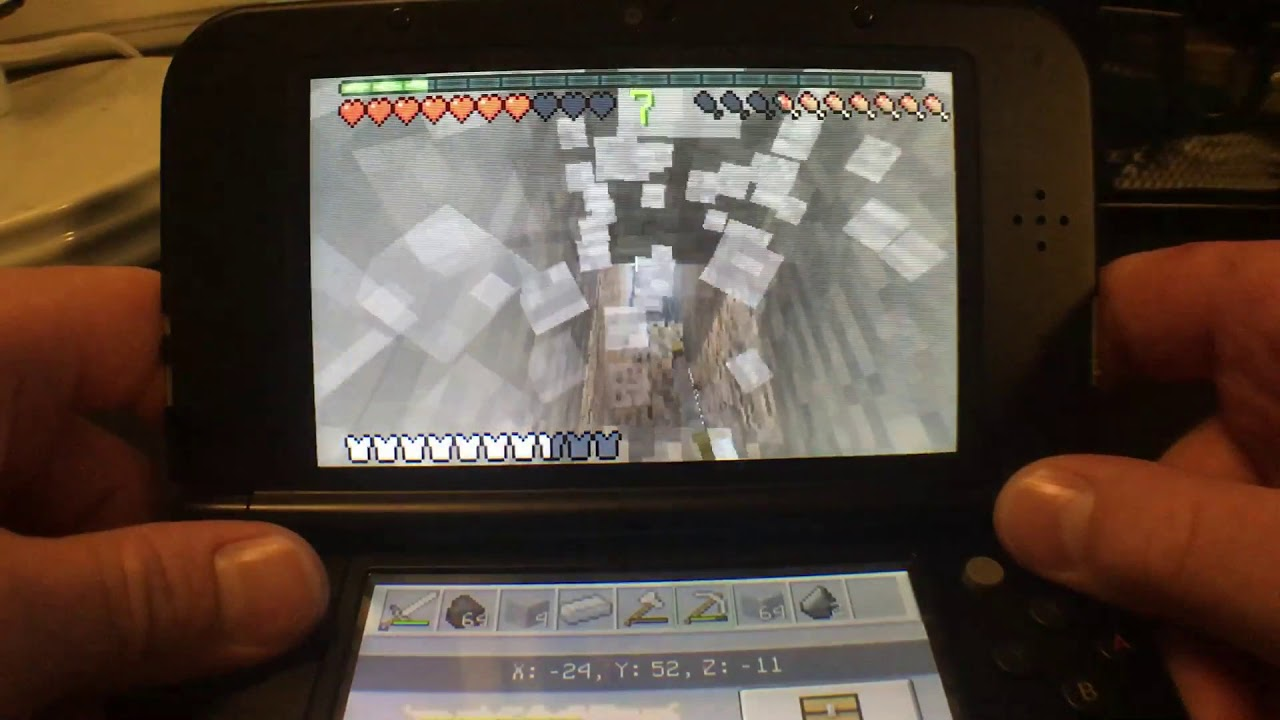Minecraft New 3DS Edition #14 New 1.4 Update Released. Multiplayer!! #1