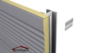 Montaż płyty warstwowej PolTherma DS EuroPanels (Złoty Medal MTP BUDMA 2011)