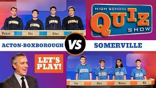 High School Quiz Show: Acton-Boxborough vs. Somerville (702)