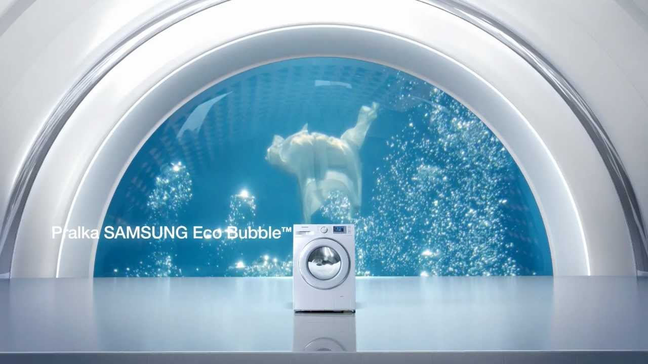 pralka samsung eco bubble technologia youtube. Black Bedroom Furniture Sets. Home Design Ideas
