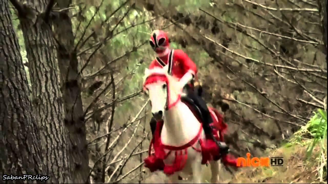 power rangers samurai reds racing youtube