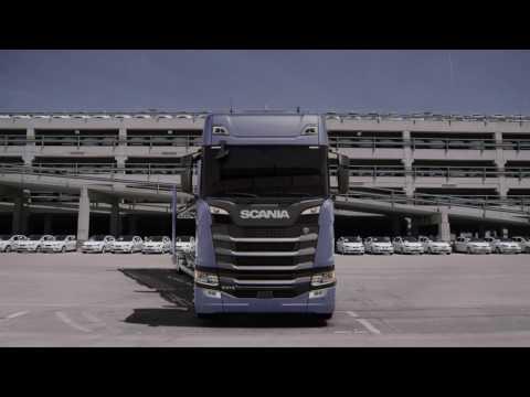 Soluciones Scania-Transporte de vehículos