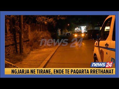 Plagosje e dyfishte me arme zjarri ne Tirane, si nisi sherri mes te rinjve