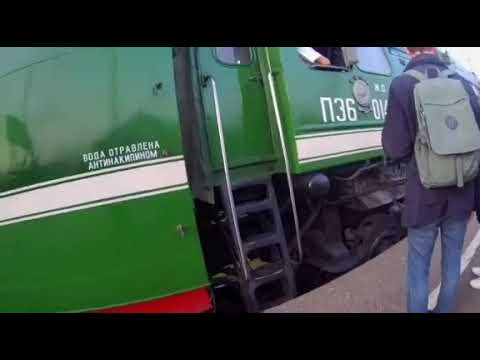Паровоз на станции Ярославль Главный