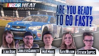 epic finish watch as we race through nascar heat evolution