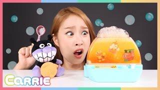 凱利的面包超人Bath Ball入浴劑玩具 | 凱利玩具朋友們 CarrieAndToys
