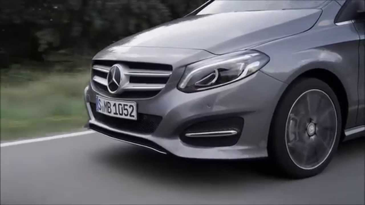 trailer facelift mercedes b klasse 2014 w246 w242 youtube. Black Bedroom Furniture Sets. Home Design Ideas
