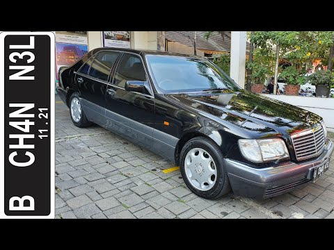 In Depth Tour Mercedes Benz S600 [W140] (1994) - Indonesia