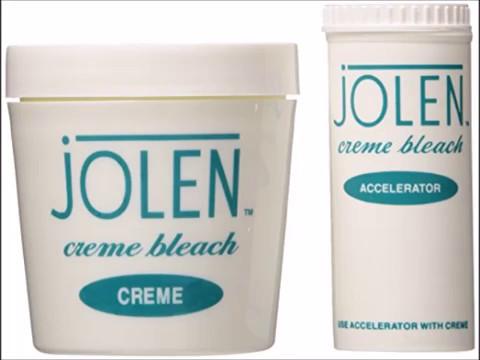 Jolen 4 Ounce Creme Bleach Regular Lightens Excess Dark Hair 118ml
