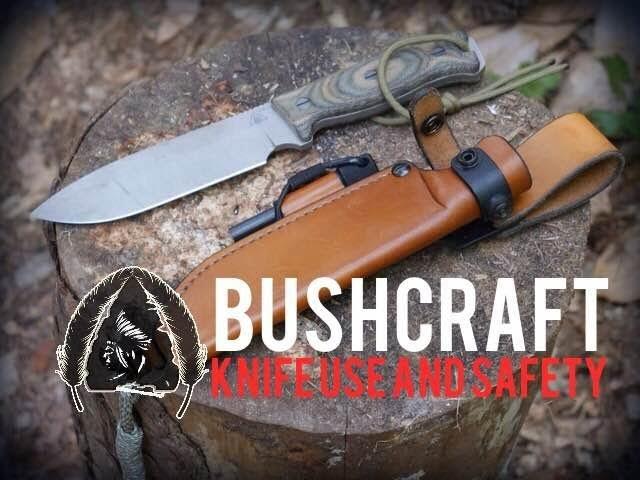 Bushcraft Basics - Knife Use and Safety