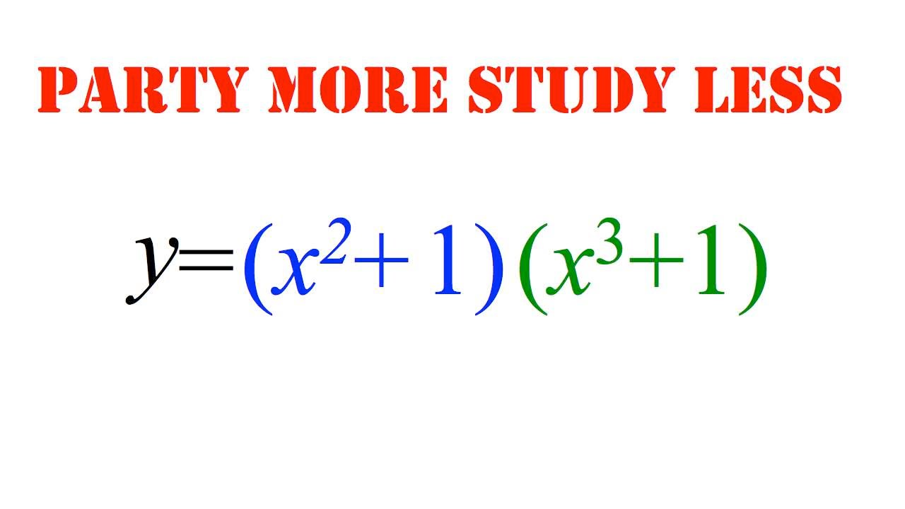 rule derivatives example