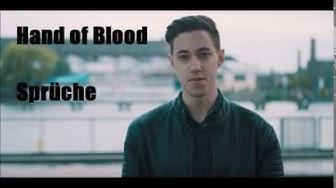 Hand of Blood  - Sprüche 001 | Ich krieg 'n Cock in Arsch