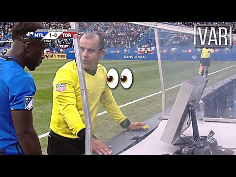 VAR Funny And Ridiculous Moments