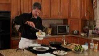 Chefs Diet Video Recipe - Island Peppered Shrimp With Mango Salsa