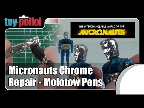 Fix it Guide - Micronauts Chrome repair - Molotow Liquid Chrome