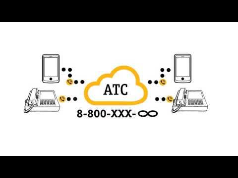 Виртуальная  АТС