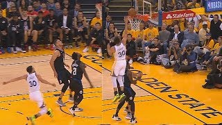 Stephen Curry Wanna End Patrick Beverley's Career With Near Putback Dunk! Warriors vs Clippers