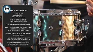 Mapex Black Panther Persuader Snare - Product Overview