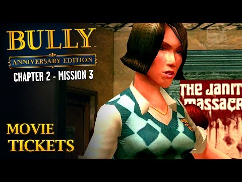 Bully: Anniversary Edition - Mission #17 - Movie Tickets