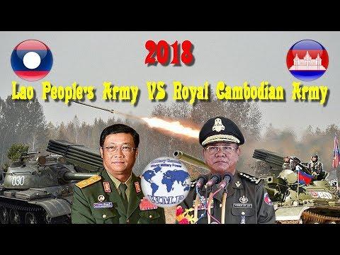 Laos VS Cambodia Military Power Comparison 2017 - 2018